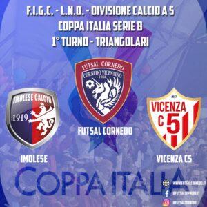 Coppa Italia, sarà il Vicenza la prima avversaria del triangolare