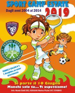 Sport Camp Estate, Tennis Club Cornedo e Futsal Cornedo presentano l'edizione 2019